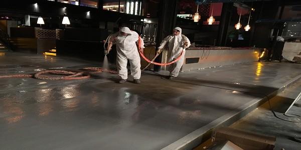 Endüstriyel zemin kaplamalarında polyurea