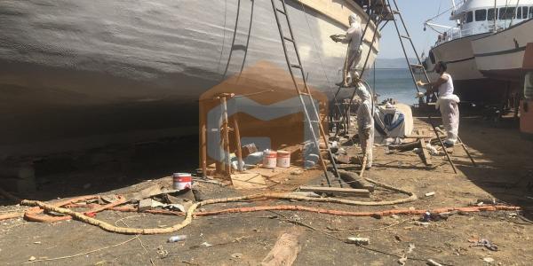gemi polyurea uygulaması