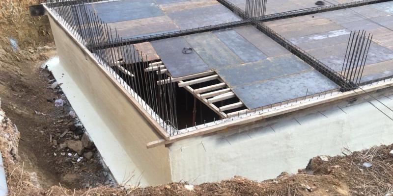 poliüretan sprey perde beton yalıtımı