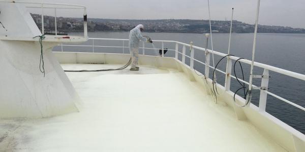 sprey poliüretan gemi güverte zemin kaplaması